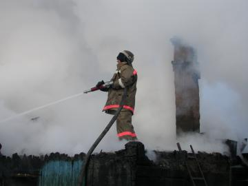 Реагирование подразделений пожарной охраны на пожар в Каргапольском районе (итог)