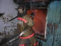 Реагирование подразделений пожарной охраны на пожар в Куртамышском районе