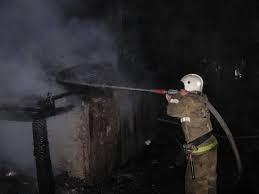 Реагирование подразделений пожарной охраны на пожар в Варгашинском районе